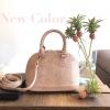 KEEP Milany Python handbag ทรง alma สุด Hot สีเข้าใหม่ Peachy Pink