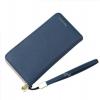 กระเป๋าสตางค์ใบยาว KQeenstar L สีน้ำเงิน