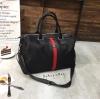 กระเป๋าสะพายใบใหญ่ Gucci style magic bag วัสดุไนล่อนเนื้อหนาอย่างดี จุของได้เยอะ แข็งแรงทนทาน สายสะพายปรับระดับได้ ใบเดียวจบ ราคา 1090 ฟรี ems