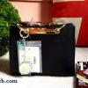กระเป๋า LYN new arrival 2016 พร้อมส่งค่ะ ด้านหน้าดีไซน์ยี่ห้อด้วย แผ่นทองสุดหรู ปั๊มโลโก้บนแผ่น มีกุญแจห้อยเก๋ๆ มาพร้อมสายสั้น