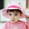 HT499••หมวกเด็ก•• / หมวกปีกกว้าง-บอลลูน (สีชมพู)