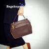 กระเป๋า CHARLES & KEITH LARGE TOP HANDLE BAG (Size L) สีน้ำตาล