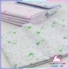 ผ้าอ้อมเด็ก ผ้าสาลู TC ขอบโพ้ง (แพ็คยกโหล 12 ผืน) 22x22 นิ้ว แพ็ค 10 โหล