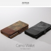Zenus : Camo Wallet Diary Synthetic Leather Cover Case For Galaxy Note 4