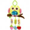 ตุ๊กตาโมบายผ้าเสริมพัฒนาการ นกฮูกกรุ๊งกริ้ง - HappyMonkey