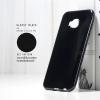 เคส Zenfone 4 Selfie Pro เคสนิ่มผิวเงา GLOSSY BLACK พร้อมจุดขนาดเล็กป้องกันเคสติดกับตัวเครื่อง สีดำทึบ