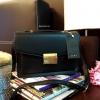 กระเป๋า Zara Soft City Bag 2016 กระเป๋าถือหรือสะพายรุ่นใหม่ล่าสุด 2016 วัสดุหนังเรียบสีดำอยู่ทรงสวยสไตล์ Casual