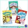 First Funny Stories : Michael Rosen & Tony Ross 3 Books Collection : Burping Bertha, Fluff the Farting Fish, Choosing Crumble