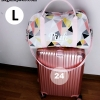 กระเป๋าเดินทาง ลายกราฟฟิค สีชมพู รุ่นใหม่ล่าสุดจาก Victoria's Secret Size L