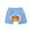 กางเกงก้นบานเด็กเล็ก ขาสั้น เป้าขยาย ลายสิงโต Size 80/90/100 สำหรับเด็ก 0-3 ปี