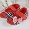 รองเท้าเด็กอ่อน คัชชูหญิงหัดเดิน สีแดง Size 13
