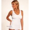 Cami Shaper เสื้อกระชับสัดส่วน พร้อมบราในตัว สีขาว
