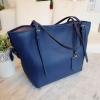 กระเป๋า Amory Leather Everyday Tote Bag สีน้ำเงิน กระเป๋าหนังแท้ทั้งใบ 100%