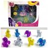 โมเดลม้าโพนี่ My Little Pony Set 8 ตัว รุ่น กลิตเตอร์
