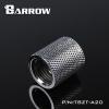 Female to Female 20mm สีเงิน Barrow