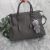 KEEP Parish hand bag with cute taddy 2017 Fashion Grey