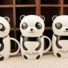 แก้วกาแฟเซรามิกหมีแพนด้า < สินค้าพร้อมส่ง >