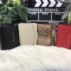 กระเป๋าเงินใบสั้น 3 พับ วัสดุปั๊มลายคาร์เวียร์ สวยมากๆ NEW 2017!! CHARLES & KEITH SMALL ENVELOPE WALLET