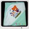 ผ้าห่อตัวเด็กสีหวานสกรีนลายน่ารัก (ขายส่งครึ่งโหล 600 บาท)
