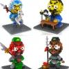 Lego Nano Block ชุดสามก๊ก