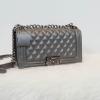 กระเป๋า Amory chain large shoulder bag สีเทาเงิน ทรง Chanel สวยหรูมากค่า กับกระเป๋าทรงยอดฮิต