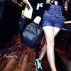กระเป๋าสะพายเป้ไนล่อน แฟชั่นDashing Style Backpack ขนาดมินิ สาว fashionista ควรมีไว้ครอบครอง ราคาเบาๆ 890 ส่งฟรี ems สีดำ