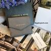 กระเป๋าสตางค์ใบสั้น CHARLES& KEITH MINI ENVELLOPE WALLET สีเทา ราคา 990 บาท