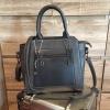 กระเป๋า Massimo Dutti PU Cross Body Bag สีดำ ราคา 1,390 บาท Free Ems