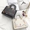 กระเป๋าแฟชั่น Medium Embroidered Satchel bag #Bestquality