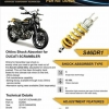 Ohlins Shock For Ducati Scrmbler Sping Black colo
