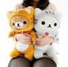 หมอนข้างตุ๊กตา Rilakuma Nonbiri Neko cat ริลัคคูมะแมว