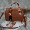 กระเป๋า KEEP sheep leather Pillow bag มาเพิ่ม 2 สี น้้ำตาล ค่า สวย น่ารัก ขนาดตอบทุกโจทย์การใช้งาน เห็นแล้ว #หลงรักเลยคะ