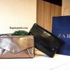 กระเป๋า Zara Clutch Bag With Flap 2016 ราคา 1,290 บาท ส่ง EMS FREE (มาพร้อมถุงผ้ากันฝุ่นค่ะ)