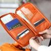 กระเป๋าใส่พาสปอร์ต กระเป๋าใส่หนังสือเดินทาง ใส่เอกสารต่างๆ มีสายคล้องมือ คุณภาพดี