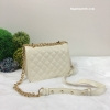กระเป๋า ZARA QUILTED CROSSBODY BAG ราคา 1,290 บาท Free Ems