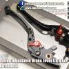 GTR 6-Position Adjustable Brake Lever L & R Set For HONDA CBR650