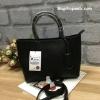 กระเป๋า Zara Mini format tote bag อยู่ทรงสวย สีดำ