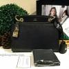 กระเป๋า LYN IVANKA XS BAG 2016 สีดำ กระเป๋าสะพายแบรนด์ยอดนิยมหนัง saffiano อยู่ทรงสวย ขนาดกำลังดี สำเนา