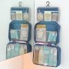 กระเป๋าใส่อุปกรณ์อาบน้ำ คุณภาพดี แขวนได้ สำหรับเดินทาง ท่องเที่ยว พกพาสะดวกมี 4 สี 4 ลายให้เลือก