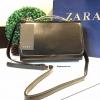 กระเป๋า Zara Metal Handle Cluth Bag กระเป๋าถือหรือสะพายรุ่นใหม่ล่าสุด2016