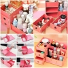 กล่องเก็บเครื่องสำอางไม้ DIY Cosmetiic box