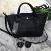 กระเป๋า KEEP ทรง longchamp รุ่น Duo Sister Classic - Pure Black