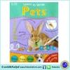 Learn To Write - Wipe Clean Workbook : Pets : Miles Kelly หนังสือเขียนลบได้ ฝึกกล้ามเนื้อมัดเล็ก สัตว์เลี้ยง