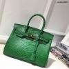 กระเป๋าทรงยอดฮิต สไตล์Birkin Crocodile Striped bag with accessories Available