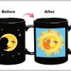 แก้วกาแฟ Sun & Moon เปลี่ยนภาพตามอุณหภูมิ