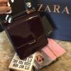 กระเป๋า ZARA Briefcase With Scarf Bag ราคา 1,390 บาท Free Ems