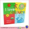 Jumbo Lift and Flaps Board Book : I love Colours บอร์ดบุ๊คส์เปิดปิดได้ขนาดจัมโบ้ ฉันรักสีต่างๆ