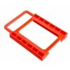 ตัวแปลง HDD 3.5 to 2.5 พลาสติกสีแดง