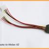สาย Power sata to Molex X2