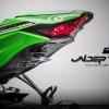 Udertail MotoPlay ชุดติดตั้งป้ายทะเบียนมีไฟส่องป้าย LED for Kawasaki ZX10R/2016-2017
